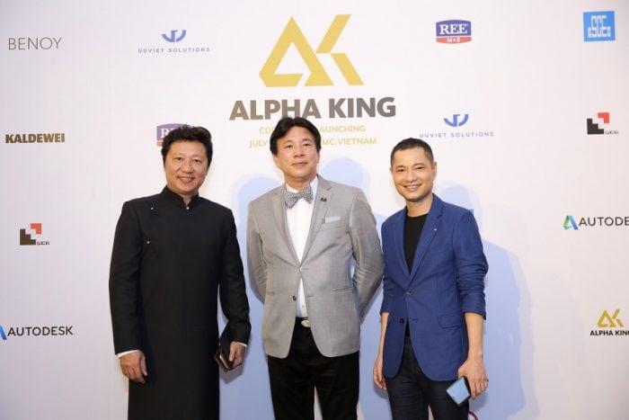 Ấn tượng với lễ ra mắt của nhà đầu tư quốc tế Alpha King tại Việt Nam