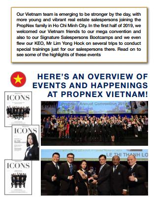 """Tạp chí """"The PropNex Times"""" ấn bản tháng 7/2019"""